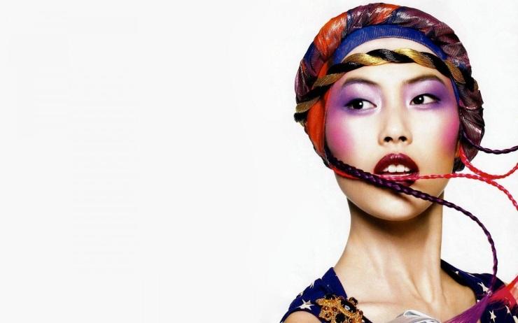 Liu Wen for Vogue China